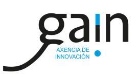 Logotipo da axencia de innovación GAIN