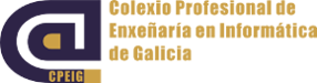 Logotipo do Colexio Profesional de Enxeñaría en Informática ou CPEIG