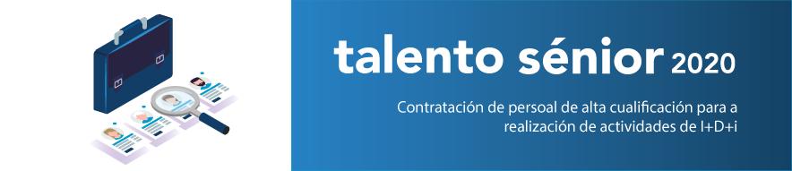 GAIN convoca Talento Sénior en 2020 para a contratación de alta cualificación