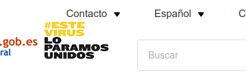 Web do Goberno de España para a busca de axudas, subvencións, becas e premios