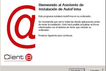 Autofirma, firma electrónica de documentos, desenvolto por Ministerio de Hacienda y Administraciones Públicas